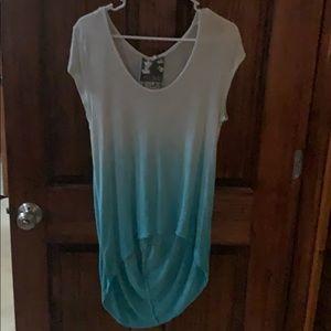 Women's tunic length shirt